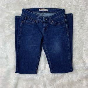 Levi Demi Curve Bootcut Skinny Jeans